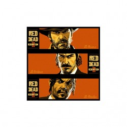red dead redemption the good the bad t-shirt sublimation