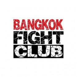Bangkok Fight Club white sublimation t-shirt