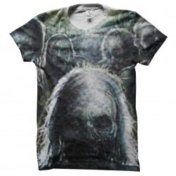 Whiperers zombies t-shirt...