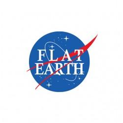 Flat earth nasa sublimation t-shirt