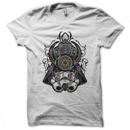 T-shirt Samourai Trooper Parody star war white sublimation