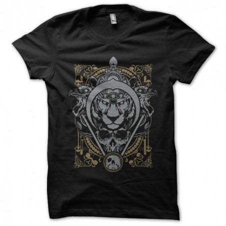 T-shirt combat tattoo black sublimation