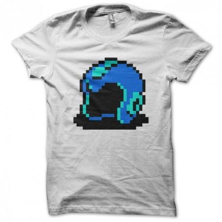 Megaman headset version 16-bit white sublimation t-shirt