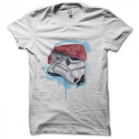 Clone trooper t-shirt in pirate white sublimation