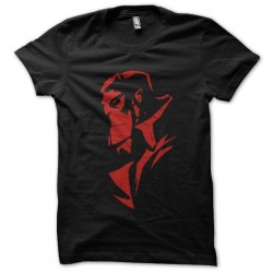 Hellboy silhouette black...