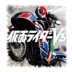 T-shirt Rider v3 on his...