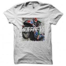 Tee shirt Rider v3 sur sa moto  sublimation