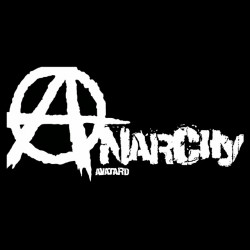 Anarchists t-shirt in black sublimation