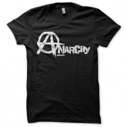 Anarchists t-shirt in black...