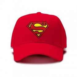 casquette SUPERMAN rouge