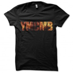 Tee shirt YMCMB fire  sublimation
