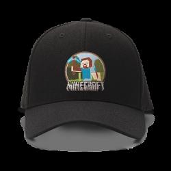 casquette MINECRAFT logo...