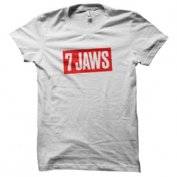 7 jaws t-shirt sublimation