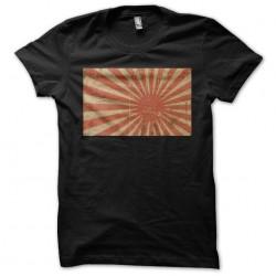Number 1 sunrise t-shirt in black sublimation