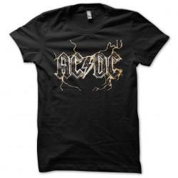 Tee shirt acdc éclairs...