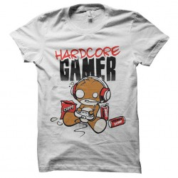 Tee shirt hardcore gamer...
