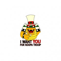 koopa troop tshirt sublimation