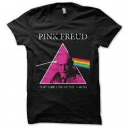 Pink freud tshirt sublimation