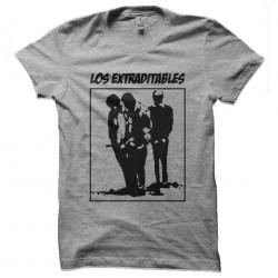 tee shirt los extraditables...