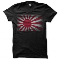 Japanese sublimation sunrise flag t-shirt