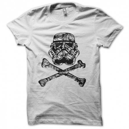 Tattoo T-shirt of a white sublimation trooper clone