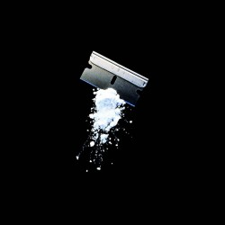 Tee shirt cocaine blade sublimation