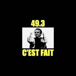 Macron 49.3 shirt sublimation