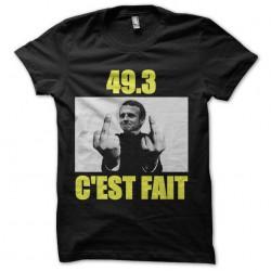 tee shirt macron 49.3...
