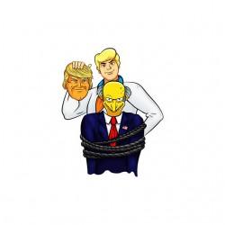Trump vs scoubidou burns shirt sublimation