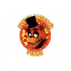 pizza bear sublimation shirt