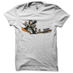 Dai shocker combatants white sublimation t-shirt