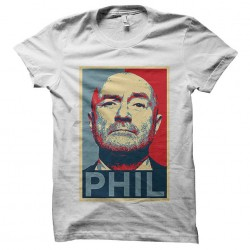 Phil collins shirt sublimation
