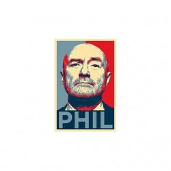 Phil collins shirt sublimation