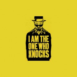 Walter white i am the one who knocks tshirt sublimation