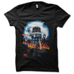 tee shirt doctor who tardis...