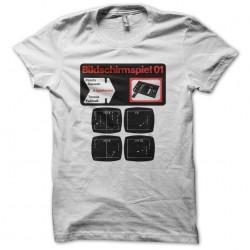 T-shirt Bildschirmspiele BSS01 white sublimation