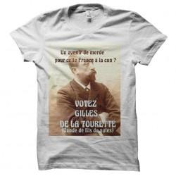 tee shirt votez tourette...