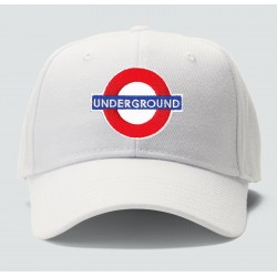 casquette underground blanche