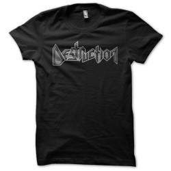 destruction shirt sublimation