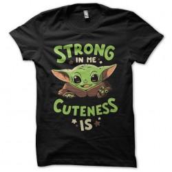 tee shirt cute bébé yoda...