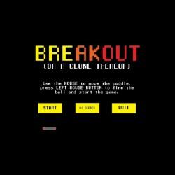 Pixel breakout black art...