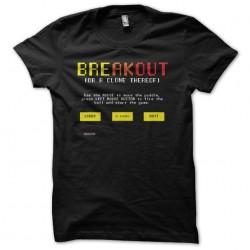 Pixel breakout black art sublimation t-shirt