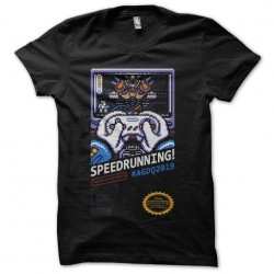 tee shirt speed running...