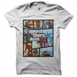 tee shirt gta 6 sublimation