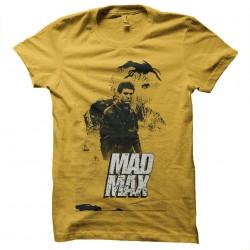 tee shirt mad max poster...