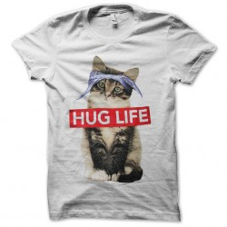 hug life cat shirt sublimation