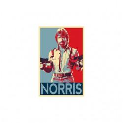 chuck norris double uzi shirt sublimation