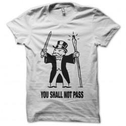 Tee shirt Monopoly parodie...