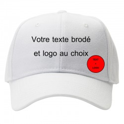 customize cap white