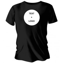 black customize tshirt...